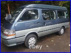 1991 toyota hiace super custom camper Japanese import 3.0 auto