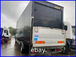2011 Mercedes atego 1218 12 ton double sleeper cab 24ft6 grp box with tail lift