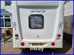 2012 Swift Sprite Musketeer, 5 Berth, Vgc, 1 Owner, Fsh, £3k-£4k Of Extras