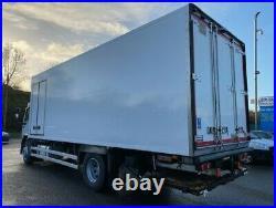 2012 daf lf 55 220 4x2 18 ton multi temp fridge freezer with tail lift
