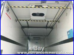 2012 daf lf 55 220 4x2 18 ton multi temp fridge with tail lift
