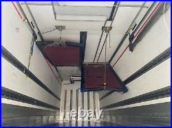 2013 scania p280 6x2 26 ton multi temp fridge freezer with tail lift