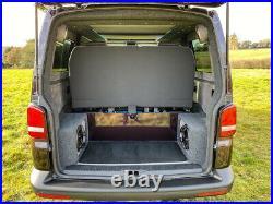 2015 VW Transporter t5.1 Highline 2.0ltr SWB Blackberry Camper van, 6 speed