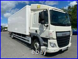 2015 daf cf 250 4x2 18 ton multi temp fridge with tail lift top spec euro 6 uLez