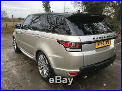 2016 65 Range Rover Sport 3.0 Sdv6 Tv, Deployables, Fridge Etc