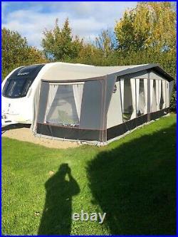 2016 Swift ace prestige 6 berth fixed bed twin axle touring caravan