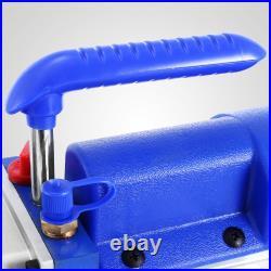 4CFM 1/4HP Single Stage Vacuum Pump Air Conditioning Refrigeration Vacuum