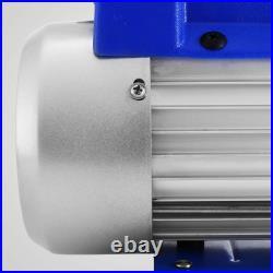 4CFM Vacuum Pump HVAC Refrigeration R134A R502 R22 R12 Air-Condition Adapter A/C