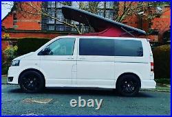 4 berth volkswagen t5 campervan transporter camper Low Mileage Aircon Sat nav Et