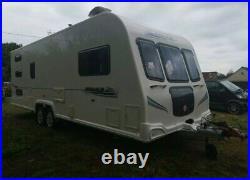 Bailey Pegasus 646 2010 6 Berth Fixed Triple Bunk, Truma Remote Motor Mover