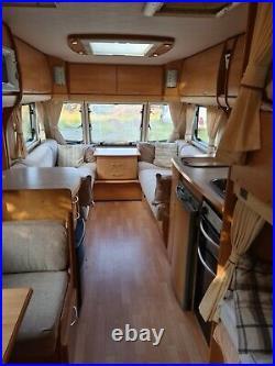 Bailey senator Carolina series 5 6 birth, twin axle caravan