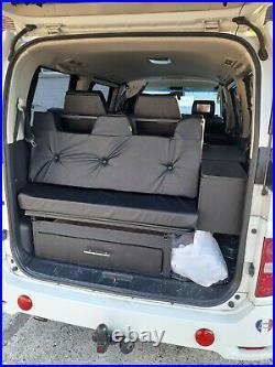 Camper van, nissan elgrand, 3.5 litre auto, 2007, 99,000 miles
