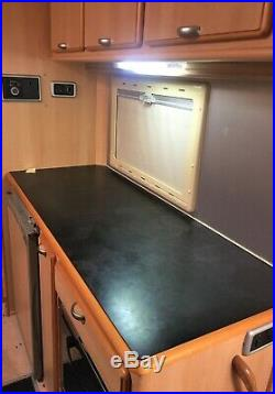 Euro Mobil Camper R. V With over 2 years RAC Warrenty