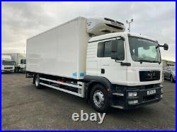 MAN TGM 18.250 4x2, 18t GVW, Rigid Fridge Truck Thermoking Dual Compartment
