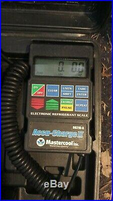 MASTERCOOL Accu Charge II Programmable Refrigerant Scale, air conditioning tool