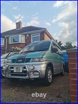 Mazda bongo Ford Freda 2.5TD 4x4 Campervan Fully Loaded Pop Up Roof Rare Colour