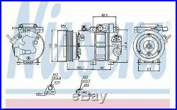 NISSENS Air Conditioning Compressor 12V 89278 Discount Car Parts