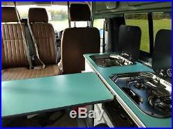 New VW T6 Euro 6 Nov 2018, Classic Two Tone High Spec Custom Campervan, 894 Mile
