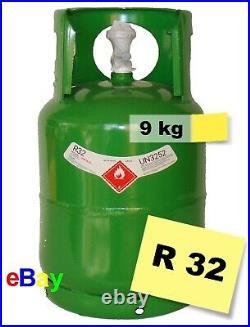 R32 Refrigerant Gas 9 kg Virgin Refillable Cylinders