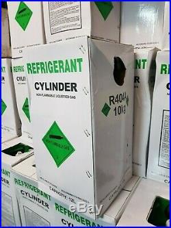 R404A AC GAS CYLINDER 10kg VIRGIN REFRIGERATION CAR FRIDGE AIR CONDITIONING