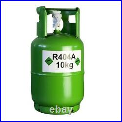 R404a Refrigerant Refillable Gas Cylinder a/c Air Conditioning 10 KG