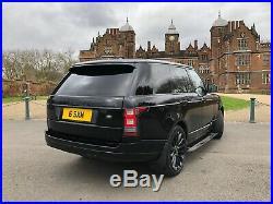 Range Rover Vogue 4.4 SDV8 Black Electric Steps Fridge Turbine Alloys