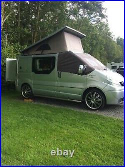 Renault Traffic Campervan / Motorhome slide out pod