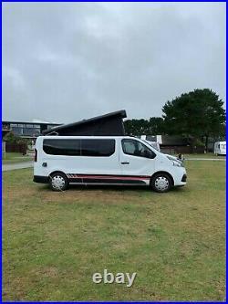 Renault Trafic Campervan Day Van LWB Motorhome Camper Sleeps 4 Pop Top Roof