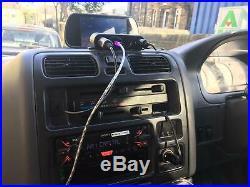 TOYOTA HI-ACE POWERVAN S SWB2446 camp van+rear seat+rearcam+fsh+ cab fan +fridge