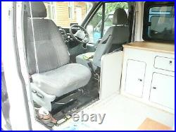 Transit Mk7 2012 (61 Plate) 2 Berth Camper. 85k Air Con. Fridge, Cooker Toilet