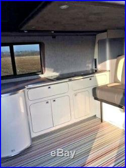 VW T5 LWB Camper Van Poptop (Available From 07/09/20)