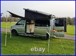 VW T5 camper van conversion T30 140 TDI LWB
