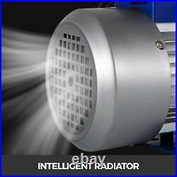 Vacuum Pump 9CFM Double Stage HVAC Auto AC Refrigerant 1HP Air Conditioning
