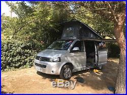 Volkswagen Transporter 2015 Highline full camper conversion pop top and awning