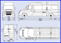 Volkswagen crafter camper van race van cr35 lwb 2.0tdi 140ps