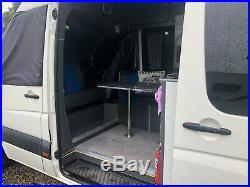 Volkswagen crafter lwb campervan motorhome race van 3 berth