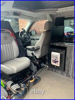 Vw t5.1 t30 2.0 lwb camper 2012 fully converted 180bhp 208k extensive history