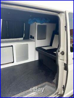 White T5.1 transporter campervan 2.0tdi 2012